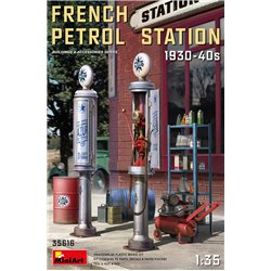 MINIART 35616 1/35 French Petrol Station