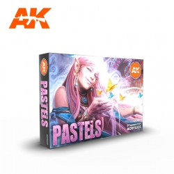AK INTERACTIVE AK11607 PASTELS COLORS SET