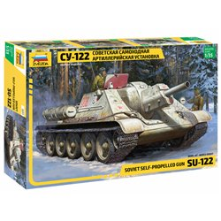 ZVEZDA 3691 1/35 SU-122