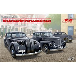 ICM DS3504 1/35 Wehrmacht Personnel Cars (Kadett K38, Kapitan and Admiral)