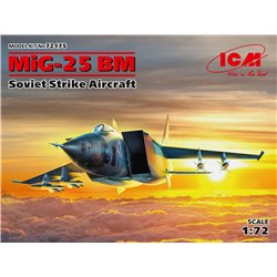 ICM 72175 1/72 MiG 25 BM Soviet Strike Aircraft