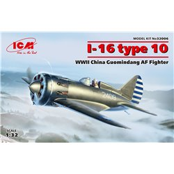 ICM 32006 1/32 I-16 type 10 WWII China Guomindang AF Fighter