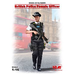 ICM 16009 1/16 British Police Female Officer
