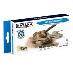 HATAKA HTK-BS95 WW2 Soviet AFV paint set (6 x 17 ml)