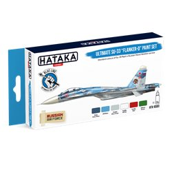 "HATAKA HTK-BS83 Ultimate Su-33 ""Flanker-D"" paint set (6 x 17 ml)"