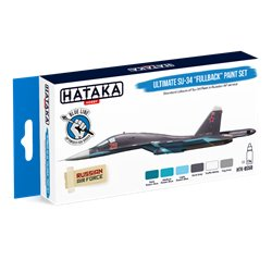 "HATAKA HTK-BS58 Ultimate Su-34 ""Fullback"" paint set (6 x 17 ml)"