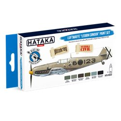 "HATAKA HTK-BS32 Luftwaffe ""Legion Condor"" paint set (6 x 17 ml)"