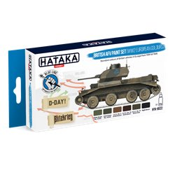 HATAKA HTK-BS22 British AFV paint set (WW2 European colours) (6 x 17 ml)