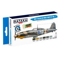 HATAKA HTK-BS103 WW2 Italian Air Force Paint set vol. 1 (6 x 17 ml)