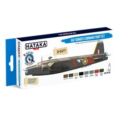 HATAKA HTK-BS102 RAF Bomber Command paint set (8 x 17 ml)