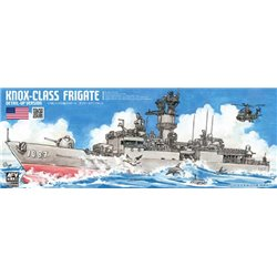 AFV CLUB SE70003 1/700 Knox-Class Frigate Detail-Up Version