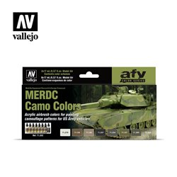VALLEJO 71.202 MERDC Camo Colors