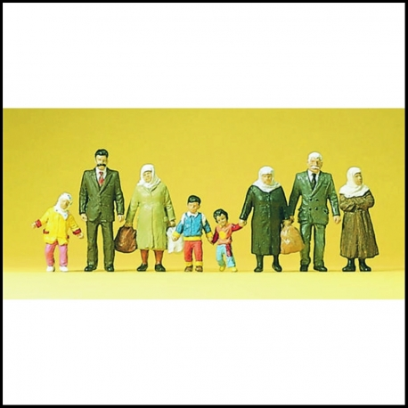 Preiser 10343 Figurines HO 1/87 Passants - Bassers-by
