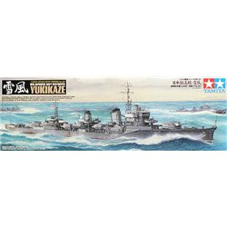 TAMIYA 78020 1/350 Japanese Navy Destroyer Yukikaze