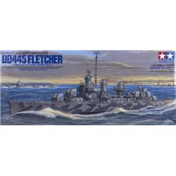 TAMIYA 78012 1/350 US Navy Destroyer USS Fletcher DD-445