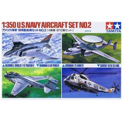 TAMIYA 78009 1/350 U.S. Navy Aircraft Set No.2