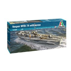 ITALERI 5624 1/35 Vosper MTB 74 with crew