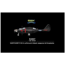 GREAT WALL HOBBY S4807 1/48 Northrop P-61A w/Ground Attack weapons & Droptanks