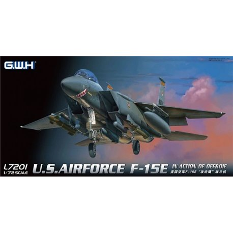 GREAT WALL HOBBY L7201 1/72 U.S. Airforce F-15E