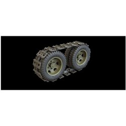 PANZER ART RE35-447 1/35 GMC wheels with mud tracks