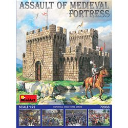 MINIART 72033 1/72 Assault of Medieval Fortress