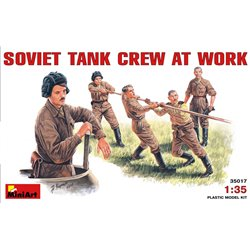 MINIART 35017 1/35 Soviet Tank Crew at Work