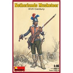 MINIART 16010 1/16 Netherlands Musketeer