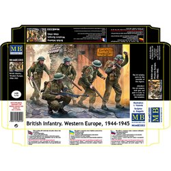 MASTERBOX MB3585 1/35 British Infantry. Western Europe, 1944-1945