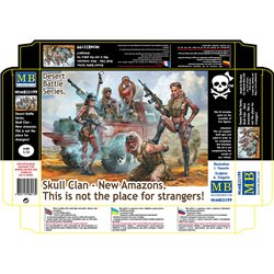 MASTERBOX MB35199 1/35 Desert Battle Series Skull Clan - New Amazons