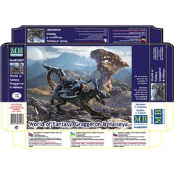 MASTERBOX MB24007 1/24 WORLD OF FANTASY Graggeron & Halseya