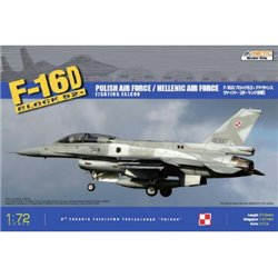 KINETIC K72002 1/72 F-16D Block 52+ Polish Air Force / Hellenic Air Force Fighting Falcon
