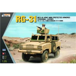 KINETIC K61012 1/35 RG-31 MK3 US Army MAPC