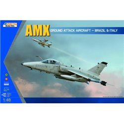 KINETIC K48026 1/48 AMX Ground Attack Aircraft - Brazil & Italy