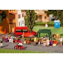 Preiser 10372 Figurines HO 1/87 Railway personnel RhB