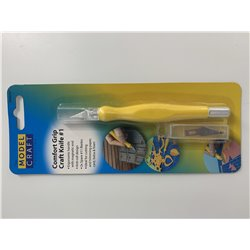 MODELCRAFT PKN4401 Couteau artisanal Soft Grip