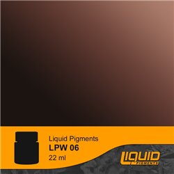 LIFECOLOR LPW06 Liquid pigments Deep Rust 22ml