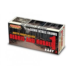 LIFECOLOR MS07 Dioramas Debris and Rubble 1
