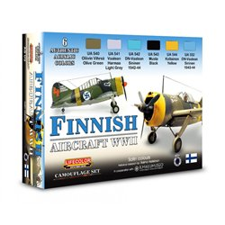 LIFECOLOR XS09 Finnish aircraft WWII