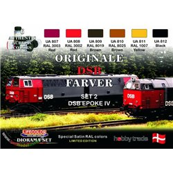 LIFECOLOR XS04 Danish Railways II