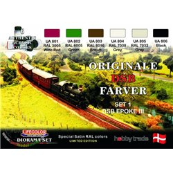 LIFECOLOR XS03 Danish Railways I