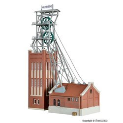 KIBRI 39845 1/87 Mine head tower with power house incl. Drive