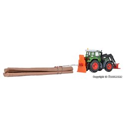 KIBRI 12246 1/87 FENDT with front shield and drum winch