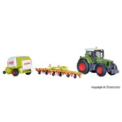 KIBRI 12233 1/87 FENDT tractor with accessory equipment