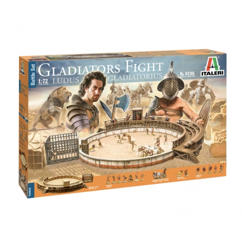ITALERI 6196 1/72 Gladiators Fight - Battle Set