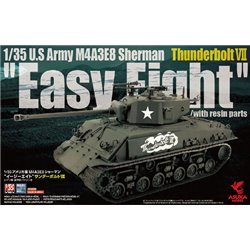 "ASUKA 35040 1/35 U.S Army M4A3E8 Sherman ""Easy Eight"" Thunderbolt VII"