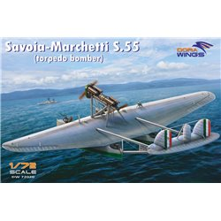 DORA WINGS DW72020 1/72 Savoia-Marchetti S.55
