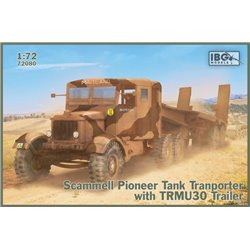IBG MODELS 72080 1/72 Scammell Pioneer Tank Transporter with TRMU30 Trailer