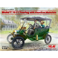 ICM 24025 1/24 Model T 1911 Touring with American Motorists