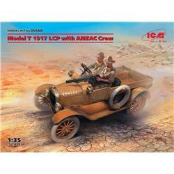 ICM 35668 1/35 Model T 1917 LCP with ANZAC Crew