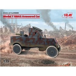 ICM 35669 1/35 Model T RNAS Armoured Car